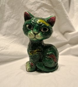 green mach cat